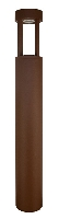 3424044 , CONTOUR paal 65 cm rusty Warm Wit