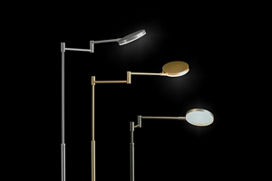 HOLTKOET,9656-1-62,LED Floor lamp PLANO B Platinum,    CRI>90